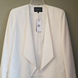 Lafayette 148 New York. Beautiful white jacket.